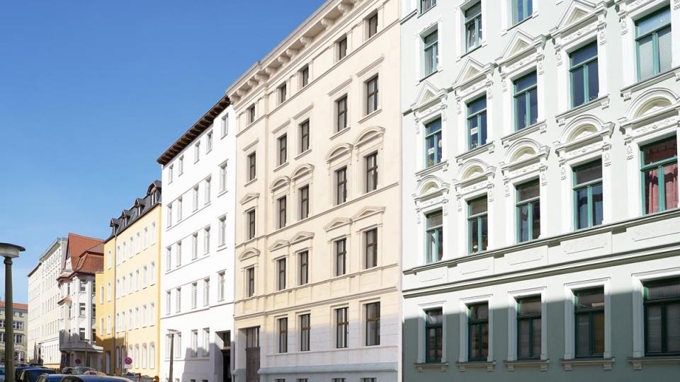 """Denkmalobjekt in der nördlichen Innenstadt von Halle im """"Medizinerviertel"""""""