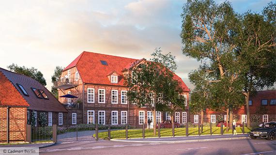 Denkmal Schwerin – Jagdschloss Friedrichsthal