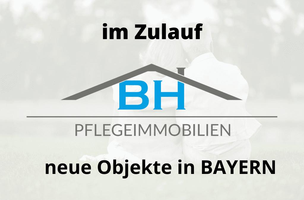 Im Zulauf: Neue Objekte in Bayern