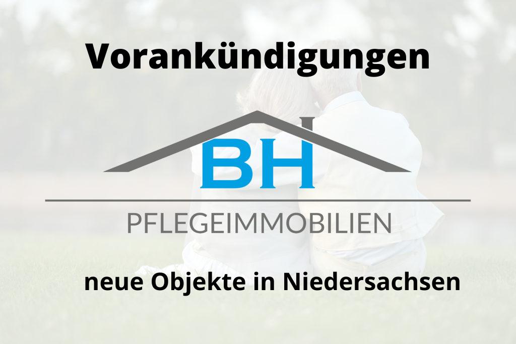 Vorankündigungen in Niedersachsen