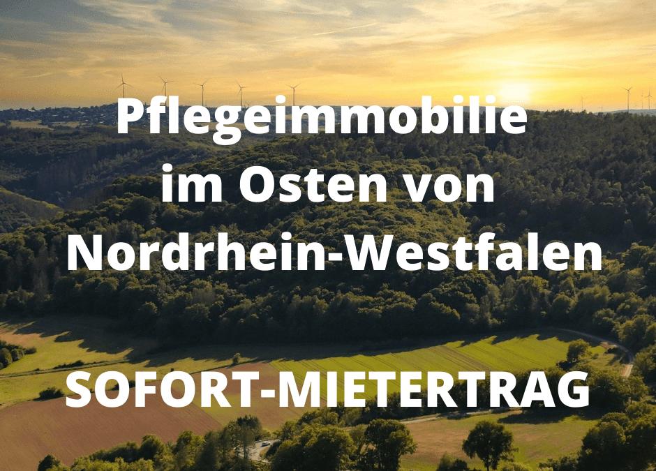 Pflegeimmobilie im Osten von Nordrhein-Westfalen